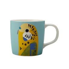 Maxwell & Williams Pete Cromer Mug 375ml Budgerigar