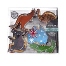 Mondo Australian <b>Cookie</b> Cutter Set 5pc