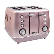 Morphy Richards Evoke Special Edition 4 Slice <b>Toaster</b> Rose Quartz