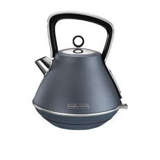 Morphy Richards Evoke Special Edition Pyramid Kettle 1.5L Blue Steel