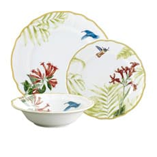 Noritake Hummingbird Meadow 12pc <b>Dinner</b> Set