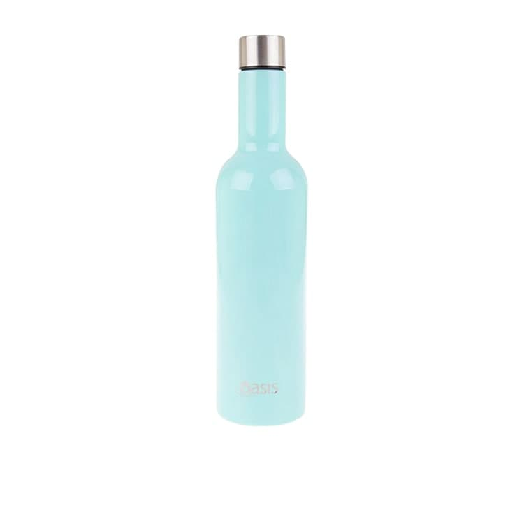Oasis Double Wall Insulated Wine Traveller 750ml Spearmint