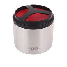 Oasis Insulated Food Container 1L Watermelon