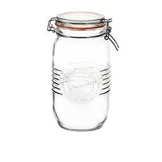 Salisbury & Co Old Fashioned Round Clip Top Jar 1.5L