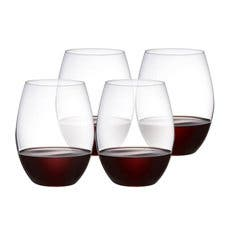 Plumm Stemless RED+ Wine Glass 610ml Set of 4