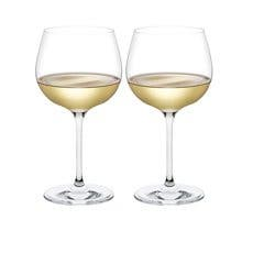 Plumm Vintage WHITEb Wine Glass 568ml Set of 2