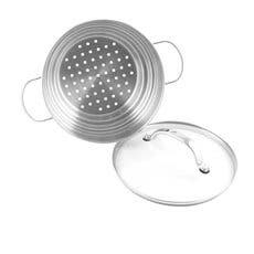 Raco Contemporary Stainless Steel Universal Steamer With Lid