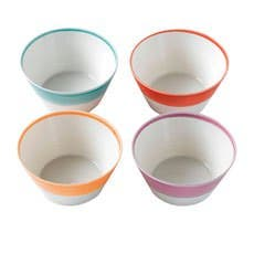 Royal Doulton 1815 Tableware Cereal Bowl Set of 4 Bright