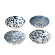 Royal Doulton Ellen DeGeneres Blue Love <b>Accents</b> Bowl Set of 4