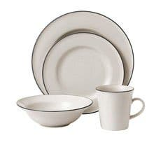 Royal Doulton Gordon Ramsay Union Street Cafe Dinner Set 16pc Cream