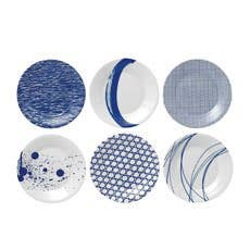 Royal Doulton Pacific Plates 16cm Set of 6