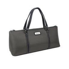 Sachi Insulated Wine Purse Charcoal