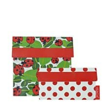 Sachi <b>Lunch</b> Pockets Set 2pc Lady Bug