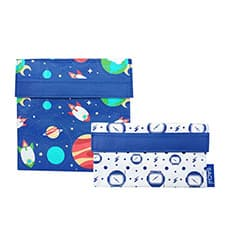 Sachi <b>Lunch</b> Pockets Set 2pc Outer Space