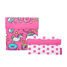 Sachi <b>Lunch</b> Pockets Set 2pc Unicorns