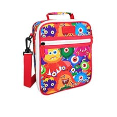 Sachi Style 225 Insulated Junior <b>Lunch</b> Tote Monsters