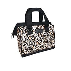 Sachi Style 34 Insulated <b>Lunch Bag</b> Leopard Print