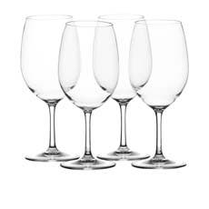 Salisbury & Co Unbreakable 4pc Red Wine Glass Set 630ml