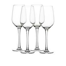 Salisbury & Co Unbreakable 4pc White Wine Glass Set 384ml