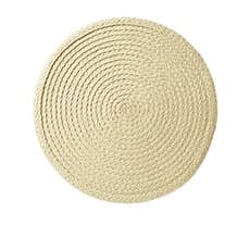Salisbury & Co Woven Round <b>Placemat</b> 35cm Natural