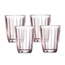 Celine Tumbler 220ml Set of 4 Pink