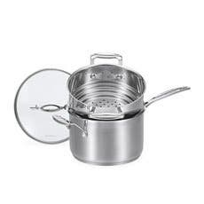 Scanpan Impact 2pc Saucepan & Multi Steamer Set