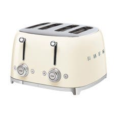 Smeg 50's Retro Style 4 Slot Toaster Cream