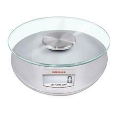 Soehnle Roma Digital Kitchen Scale 5kg Silver