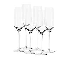 Stolzle Experience Champagne Flute 188ml Set of 6