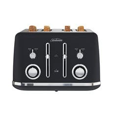 Sunbeam Alinea 4 Slice Toaster Dark Canyon