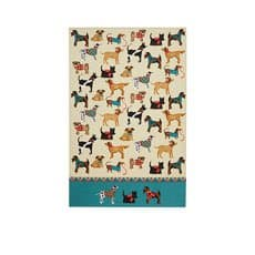 Hound Dog Tea Towel 74x48cm