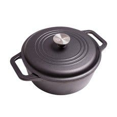 Victoria Enamelled Cast Iron Dutch Oven 3.8L