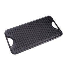 Victoria Seasoned Cast Iron Reversible Grill 47x25cm