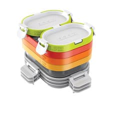 Zoku Neat Stack <b>Lunch</b> Container Set 11pc