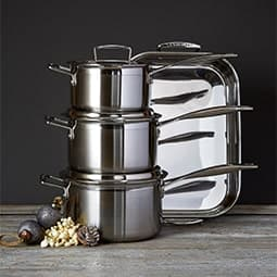 3-Ply Stainless Steel
