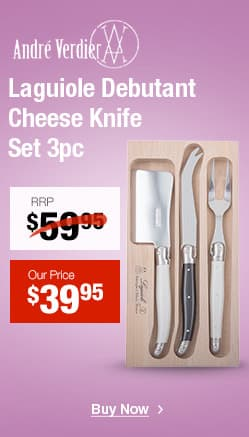 Laguiole Debutant Cheese Knife Set