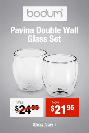 Bodum Pavina 2pc Double Wall Glasses