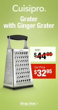 Cuisipro Box Grater with Ginger Grater