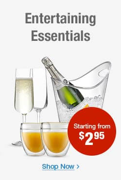 Entertaining Essentials Kitchenware Direct