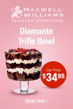 Diamante Conical Trifle Bowl