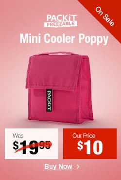 Packit Mini Cooler Poppy