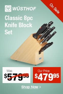 Wusthof Classic 8pc Knife Block Set