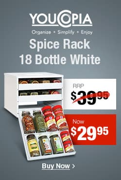 Spice Rack 18 Bottle