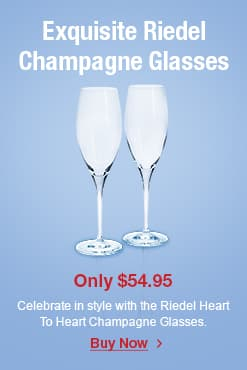 Riedel Heart To Heart Champagne Glass